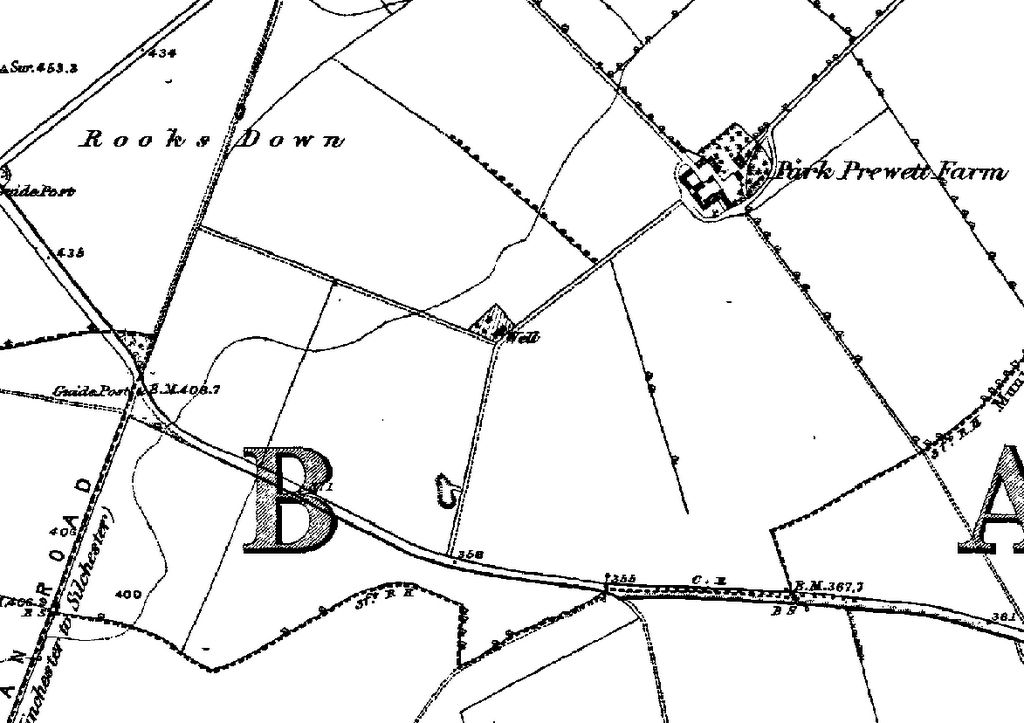 1877 Map of Rooksdown
