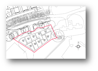 Park Prewett Allotment plan